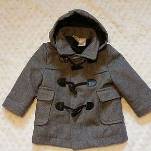 HP!💕Koala Baby Boy Toggle Closure Hooded Coat 12M